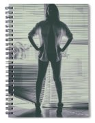 Ethereal Woman Spiral Notebook