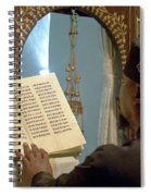 Ethiopian Priest  Spiral Notebook