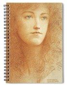 Etude Anglaise Spiral Notebook