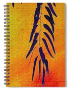 Eucalyptus Leaves Abstract Spiral Notebook