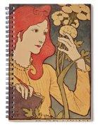 Eugene Grasset Spiral Notebook