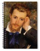 Eugene Murer 1877 Spiral Notebook