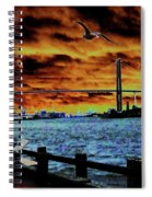 Eugene Talmadge Memorial Bridge And The Serious Politics Of Necessary Change No. 1 Spiral Notebook