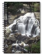 Ingliss Falls - Ontario Spiral Notebook