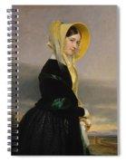 Euphemia White Van Rensselear Spiral Notebook