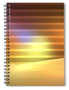 Europa Sunrays Spiral Notebook
