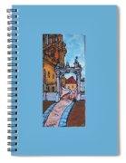 Europe Church Spiral Notebook