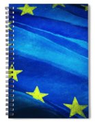 European Flag Spiral Notebook