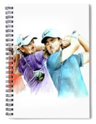 European Golf Champions Race 2017 Spiral Notebook