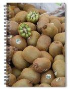 European Markets - Kiwis Spiral Notebook