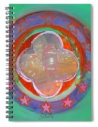 European Merry-go-round Spiral Notebook
