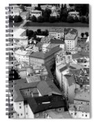 European Rooftops Spiral Notebook