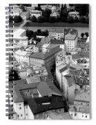 European Rooftops Spiral Notebook
