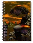 Evacuation  Spiral Notebook