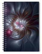 Evanescing Emanations Spiral Notebook