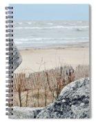 Evanston Shoreline Spiral Notebook