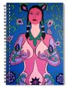 Eve Awakened Spiral Notebook