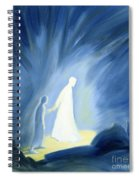 Even In The Darkness Of Out Sufferings Jesus Is Close To Us Spiral Notebook