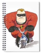 Even Super Heroes Have Bad Days Spiral Notebook