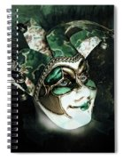 Even With Her Mask, Her Eyes Give Her Away Spiral Notebook