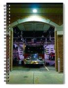 Evening Arrives Spiral Notebook