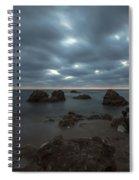 Evening At Sidna Ali Beach 4 Spiral Notebook