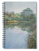 Evening At Southampton Common Lake Spiral Notebook