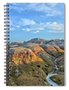 Evening At Yellow Mounds 2 Spiral Notebook