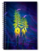 Aloe Flowers Spiral Notebook