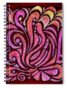 Evening Bonfire Spiral Notebook