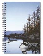 Evening Call Spiral Notebook