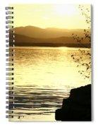Evening Charlotte Sunset Spiral Notebook