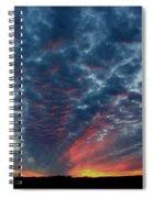 Evening Sky In Kansas Spiral Notebook