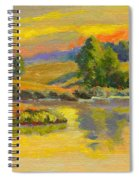 Evening Color Spiral Notebook