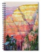 Evening Colors  Spiral Notebook