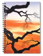 Evening Colors Spiral Notebook