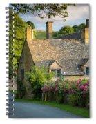 Evening Cottage Spiral Notebook
