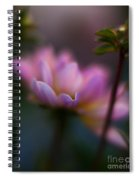 Evening Dahlia Spiral Notebook