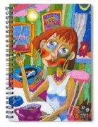 Evening Dream Spiral Notebook
