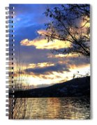 Evening Exhibition Spiral Notebook