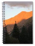 Evening Fire Spiral Notebook