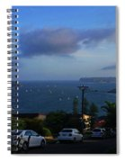 Evening For Sailing Spiral Notebook