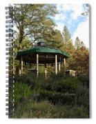 Evening Gazebo In Paradise Spiral Notebook