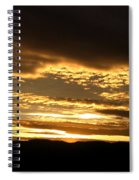 Evening Grandeur Spiral Notebook