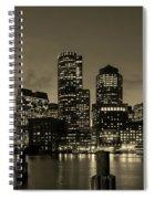 Evening In Boston Spiral Notebook