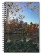Evening In Central Park Spiral Notebook