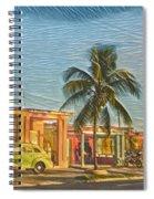 Evening In Cuba Spiral Notebook