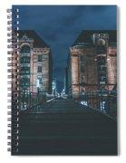 Evening In Hamburg Spiral Notebook