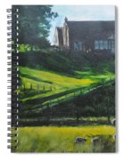 Evening In North Wales Spiral Notebook