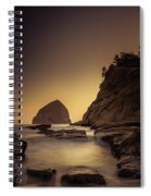Evening In The Cove Spiral Notebook